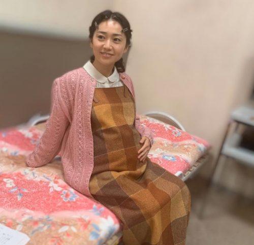 大島優子の妊婦姿